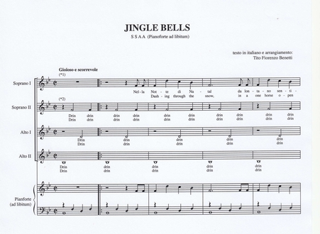 titofiorenzobenetti spartiti musica corale polifonica